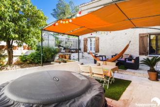 Vente maison avec jardin et jacuzzi bord de mer à Saint Mandrier 83430 - Agence Immobilière Saint-Mandrier 83430 Happyssimmo - Estimation Immobilière Saint-Mandrier 83430 Happyssimmo - Villa for sale in Provence - Villa à vendre dans le Var