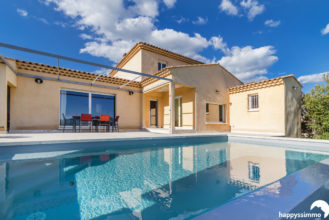 Maison villa à vendre avec Jardin et piscine à Ginasservis 83560 - Agence Immobilière  Ginasservis 83560 Haut Var Happyssimmo - Estimation Immobilière  Ginasservis 83560 Haut-Var Happyssimmo  - House for sales in Provence - Happyssimmo  Ginasservis 83560