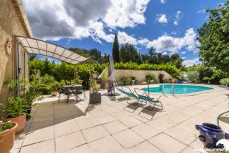 Villa à vendre à Rians avec jardin et piscine - Agence Immobilière Rians - Verdon Happyssimmo - Meilleur Agent Estimation - Maison à Vendre Var