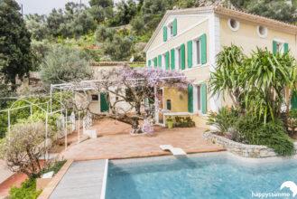 Vente villa prestige à Toulon avec piscine vue mer et rade - Luxury villa for sale in Provence - Agence Immobilière Happyssimmo le mourillon le faron