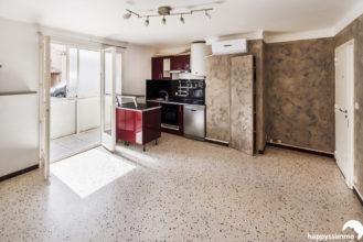 Achat Vente Appartement avec Terrasse à La Seyne - 83500 - Agence Immobilière La Seyne 83500 - Happyssimmo La Seyne 83500 - Appartement à vendre proche toulon la seyne six fours secteur calme