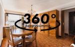 Visite virtuelle 360 immobilier - Achat Vente appartement avec balcon terrasse à Hyères - 83400 centre ville - Agence Immobilière Hyères 83400 Happyssimmo Hyeres -